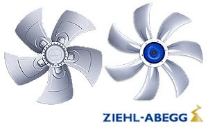 Вентиляторы осевые Ziehl-Abegg (Циль-Абегг)