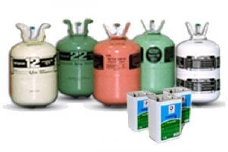 Фреон и масло для холодильного оборудования