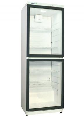 В наличии и под заказ холодильные шкафы cо стеклянными дверьми polair eco dm135/2-eco