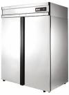 Холодильные шкафы с металлическими дверьми POLAIR Grande CM110-G