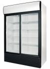Холодильные шкафы cо стеклянными дверьми POLAIR Professionale BC110Sd